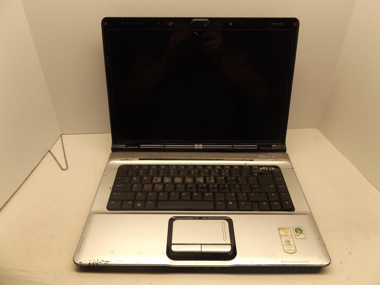 HP Pavilion dv6627om Turion 64 X2 cpu, 2gb Ram, No HDD