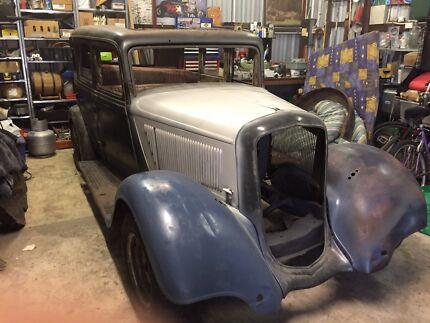 1933 Plymouth 4door sedan hotrod