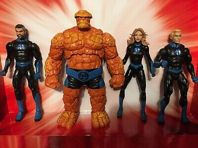 Marvel Legends Fantastic Four 4 Complete Team Set Of 4 Super Skrull wave Lot
