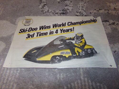 Skidoo 25th Anniversary poster. 1984. Rare.