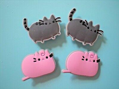 Jibbitz Croc Clog Shoe Charm Button Plug Holey Accessories WristBand 4 Cats SP