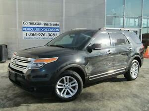 2013 Ford Explorer XLT AWD  89685km 7 passagers