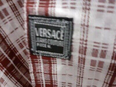 Versace jeans couture shirt, Vintage Plaid Longsleeve VGC