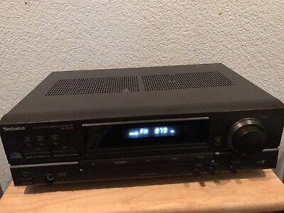 Technics SA-EX140 AV Control Stereo Receiver Home Audio Class H+ Technics Home Audio
