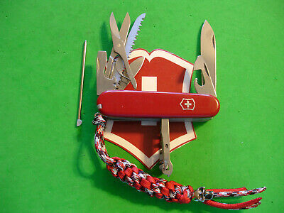 "NTSA SWISS ARMY VICTORINOX MULTIFUNCTION POCKET KNIFE RED ""HUNTSMAN PLUS"""