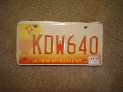 NEW MEXICO BALLON     LICENSE PLATE    BUY ALL STATES HERE