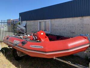 Zodiac Futura inflatable boat Pearsall Wanneroo Area Preview