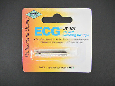Replacement Tip For J-025 25w Soldering Iron - Conical Chisel - Ecgnte Jt-101