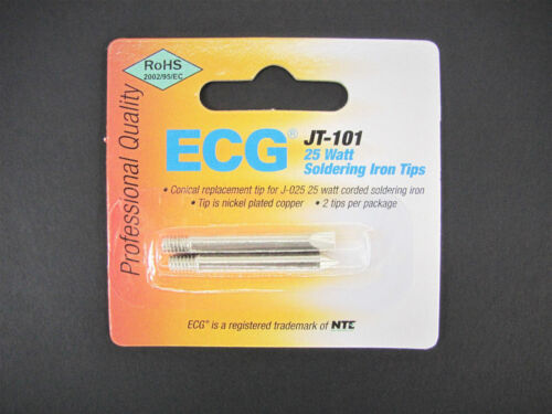 ECG/NTE JT-101 - Replacement Tip for J-025 25W Soldering Iron - Conical Chisel
