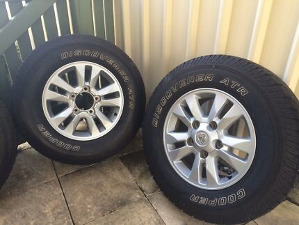200 Series Landcruiser 17 inch wheels and tyres x 4 Coffs Harbour 2450 Coffs Harbour City Preview