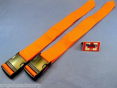 Medical Standard Strap Emergency Spine Board Belt Stretcher Set 2 191-mayday