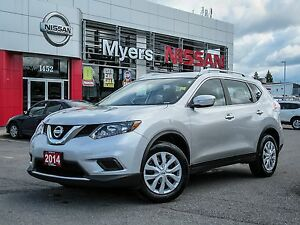 2014 Nissan Rogue S, fwd ,HEATED MIRRORS, SPORT DRIVE, BLUETOOTH