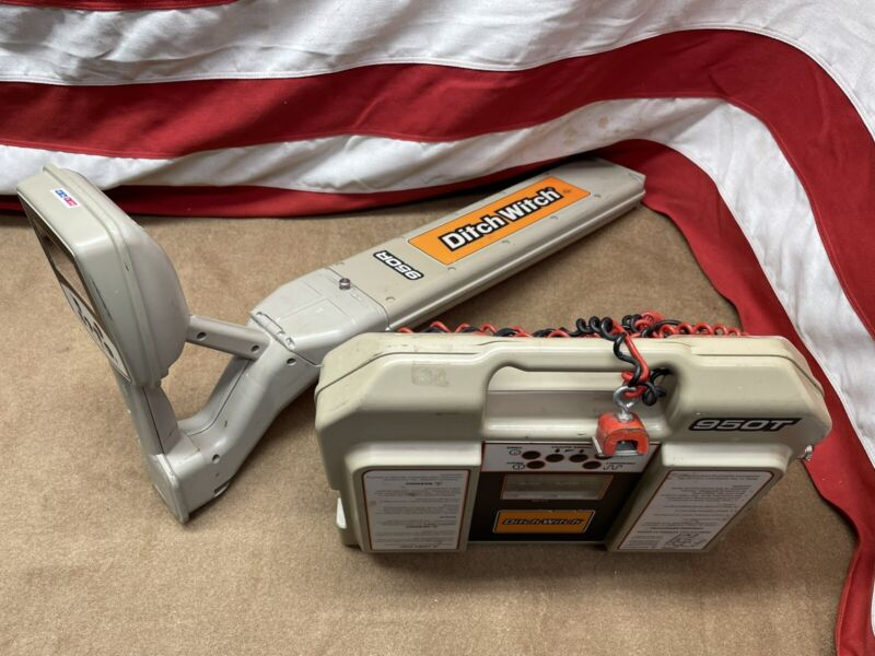 Ditch Witch subsite cable pipe locator 950t 950r