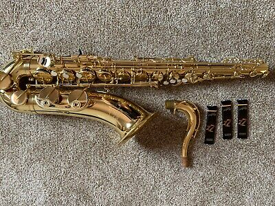New pro Tenor saxophone SUPER ACTION 80 copy w//Yamaha sax swab  list $3,998.00