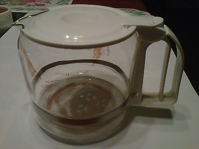 12-Cup Replacement Carafe-1500-1799W & Auto Drip Coffee Maker~Good Condition