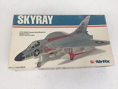 Vintage US Airfix 30050 F4D Skyray Kit USN 1:72 USA Made 1979 NIOB