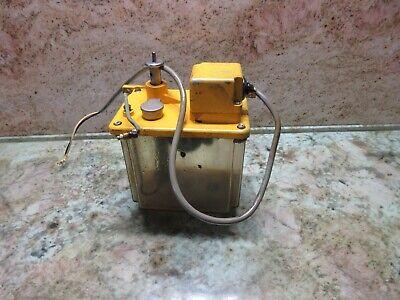 Showa Oilcon Lube Lubrication Tank Pump System Distributor Ikegai Cnc Lathe