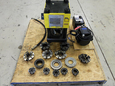 Weatherhead T440t410 2 Hydraulic Hose Crimper Machine W New Electic Pump