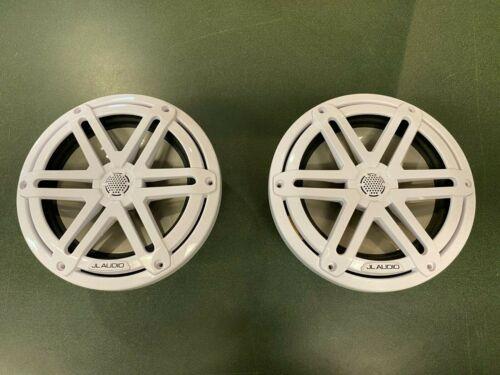 "JL Audio M3 7.7"" Speakers w/ White Sport Grill- Pair"