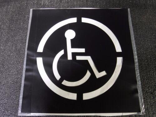 20Y542 Handicap Symbol stencil (DR)