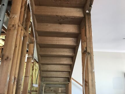 Solid timber stair s