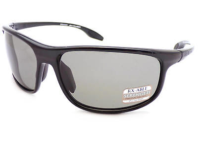 82cbaf2ea3ab SERENGETI - PONZA polarized Sunglasses Shiny Black/ PhD Grey CPG Lenses 8619