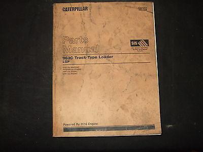 Cat Caterpillar 963c Tractor Bulldozer Crawler Parts Manual Sn 2ds1-up