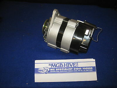 MG NEW  ALTERNATOR WITH FAN AND PULLEY  MGB 1968 to 1980 LANDROVER SERIES 3