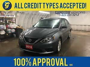 2016 Nissan Sentra SV*CVT*HEATED FRONT SEATS*BACK UP CAMERA*KEYL