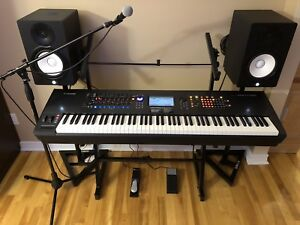 Yamaha Montage 8 flagship performance synthesizer and equipment