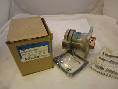 Crouse Hinds 60 Amp 4w 4p Receptacle Ar641 New In Box Mates With Apj6475