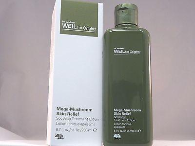 Dr  Weil For Origins Mega Mushroom Skin Relief Soothing Treatment Lotion Nib