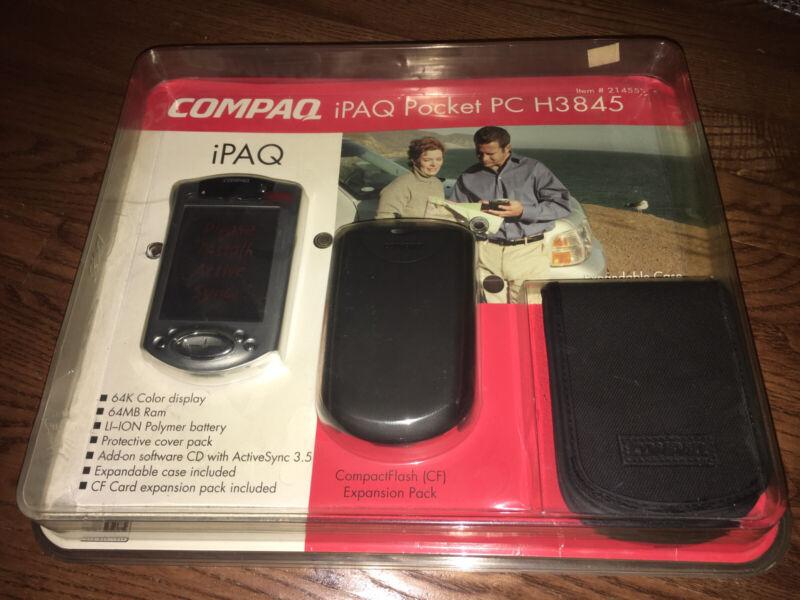 Compac Ipaq: Pocket Pc H3845 ) ] New & Unused In Damage Box ) I Ship Fast