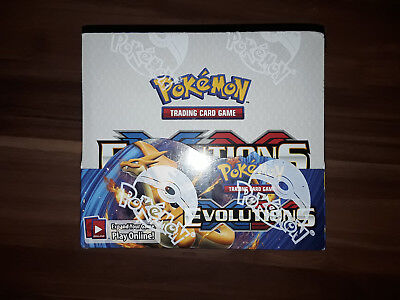 Pokemon Evolutions Booster Display Englisch OVP neu