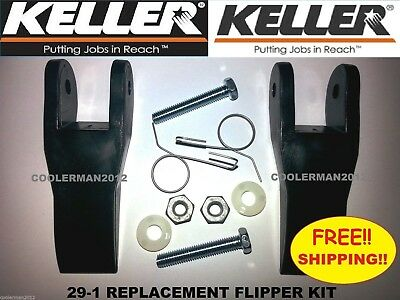 Keller Replacement Flipper Parts Kit Fiberglass Aluminum Extension Ladder