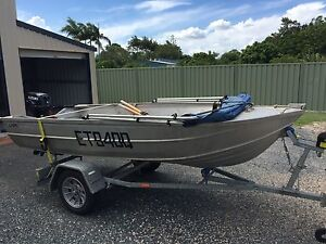Clark cutter deluxe 3.66 tinny Ningi Caboolture Area Preview