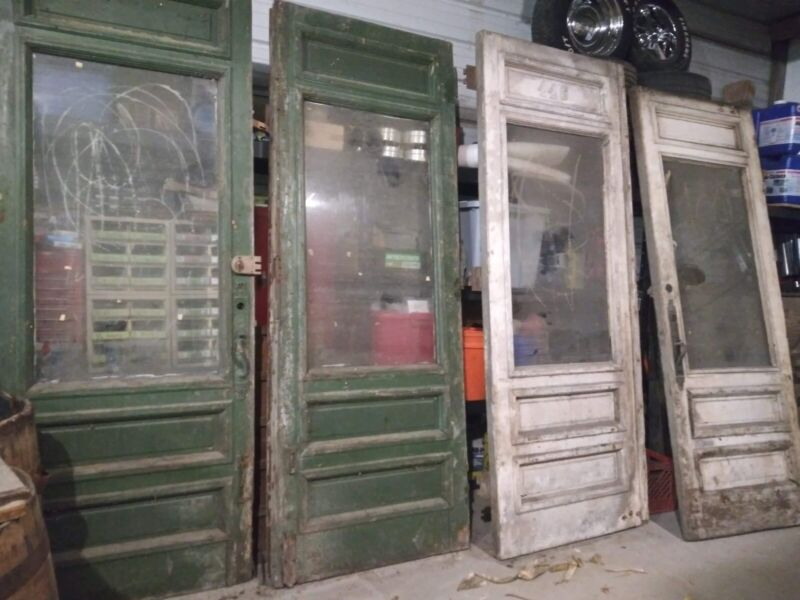 "Antique 36"" X 96"" Exterior Door Vintage Door Victorian Door. 4 Doors Available."