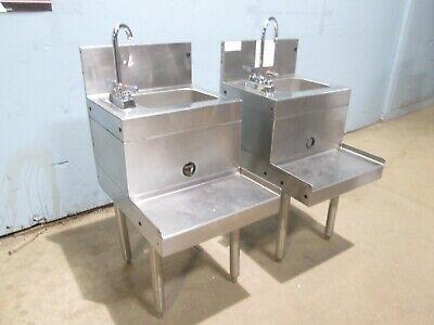 One Unit Glas Tender Commercial Modular Ss Nsf Blender Station Wwash Sink