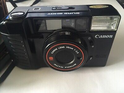 Canon Sure Shot AF35m II Autoboy 2 Camera With Case. See listing