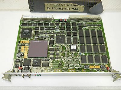 Uni Pro Cpu92-10 Cnc90 Control Board Pn 23.053631-00106 New Condition In Box