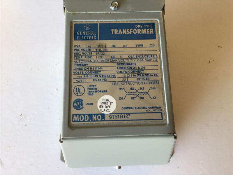 General Electric Transformer 9T51B127