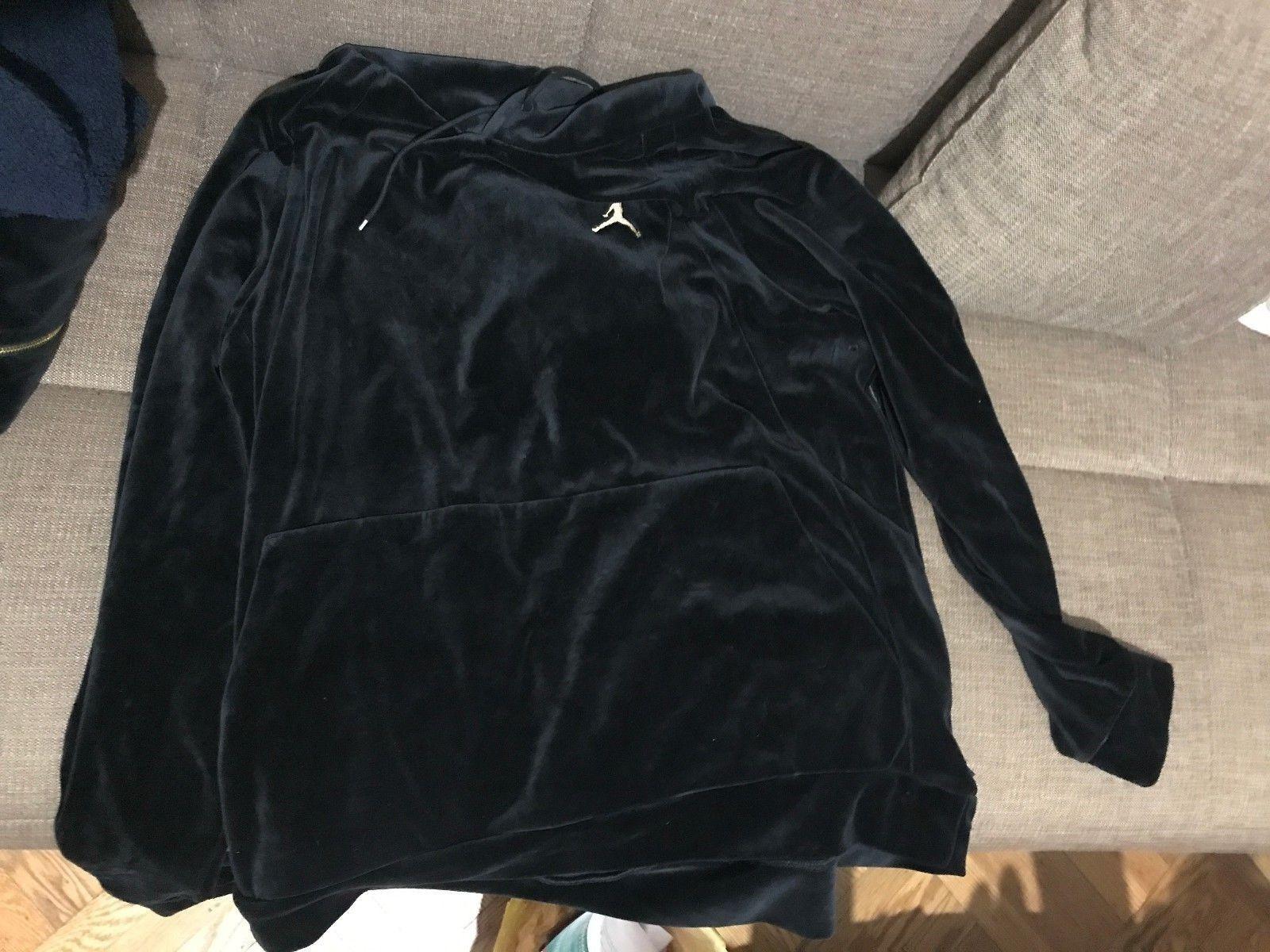 Mens Air Jordan JSW Velour Jacket Retro AH2357-609 Bordeaux New Size 3XL