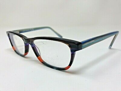LINK OCCHIALI 5471 638 Eyeglasses Frame 53-16-140 Multi Colored Polish (Multi Coloured Glasses Frames)
