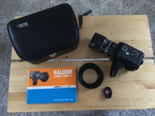 Nalcom FTL Synchrozoom Super 8mm Movie Camera : )