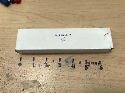 Waterman edson Serenite Carrera Le Man 100 200 fountain pen case