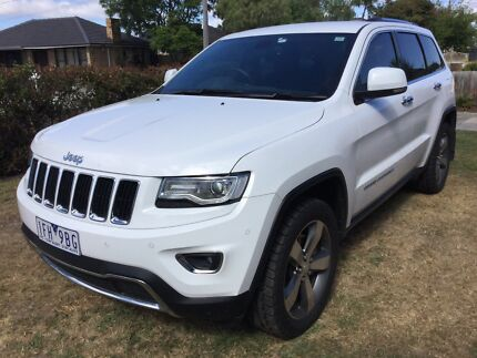 REDUCED Jeep 2015 Grand Cherokee Limited Diesel - Tow & Lux Packs