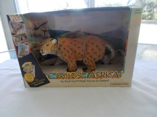 "ERTL  Collectibles The Wilds Of Africa Leopard New In Box 1997 6"" X 9"""