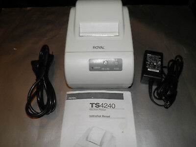 New Royal Ts4240 Kitchen Printer Pos Thermal Receipt Printer Ethernet