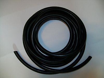 10 Ft. Black Surgical Latex Rubber Tubing 14 Id 38 Od