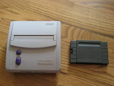 Super Nintendo Mini 101 System Console ONLY SNES & Cleaning Cartridge!!!
